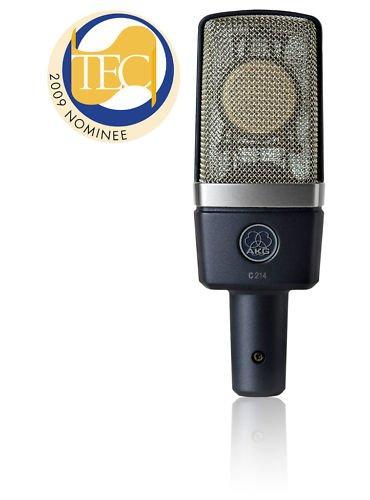 AKG C214 Large Diaphragm Studio Microphone