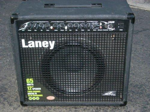 "Laney LX65D 12"" Combo 2 Channel Guitar Amp 65 Watts Digital Effects"