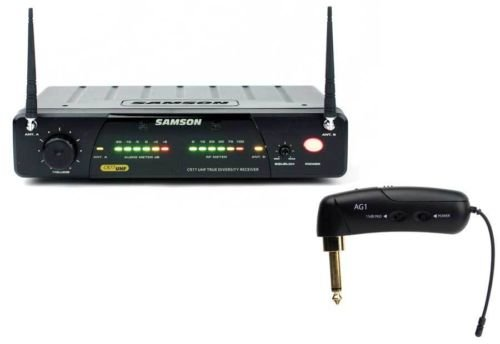 Samson AirLine 77 UHF TD Wireless Guitar System with AG1 Transmitter