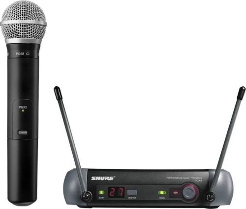 Shure PGX24/PG58 Hand-Held Wireless System