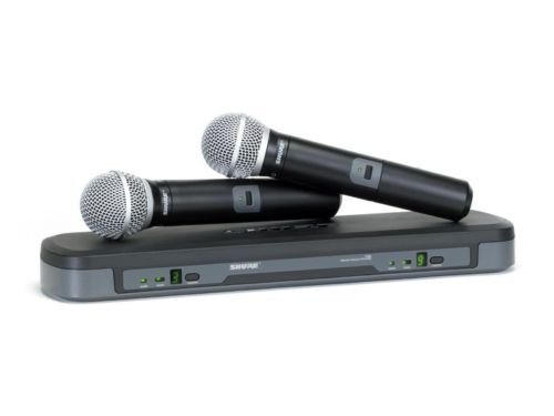 Shure PG288/PG58 H7 Dual Wireless Microphone System