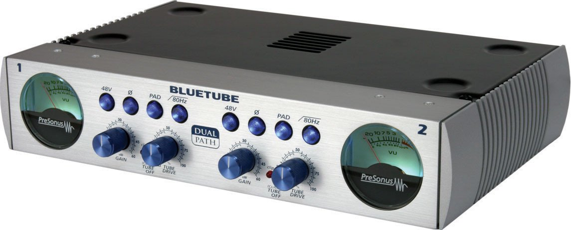 PreSonus BLUETUBE DP Stereo Dual Path Microphone/Instrument Preamp with 12AX7