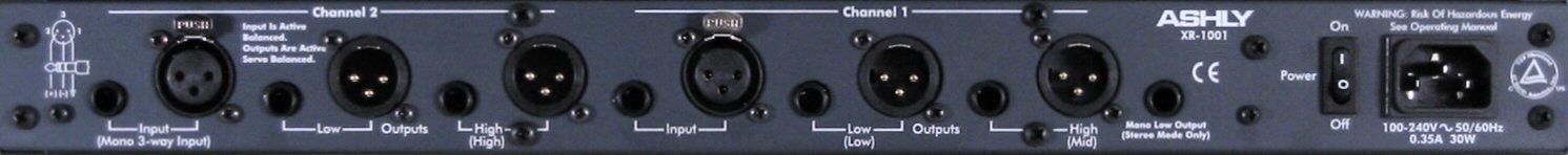 Ashly XR-1001 Crossover
