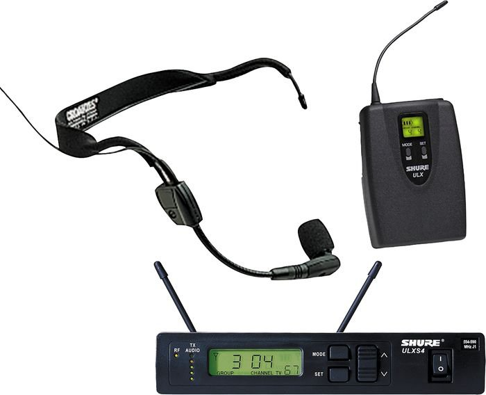 Shure ULXS14/30 Wireless Headset System with WH30 Mic