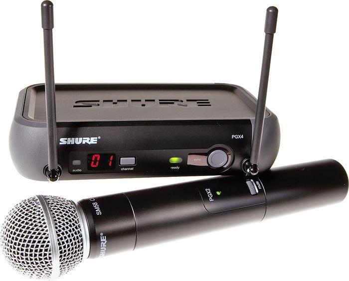 Shure PGX24/SM58 Hand-Held Wireless System