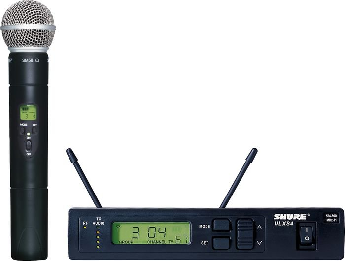 Shure ULXS24/58 Handheld Wireless Microphone System