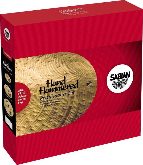 Sabian HH Performance Set Cymbal Pack