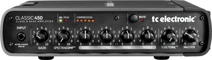 TC Electronic Classic 450 450W Bass Amp Head