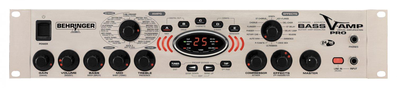 Behringer LX1BPRO Bass V-AMP PRO Rack Modeling Preamp