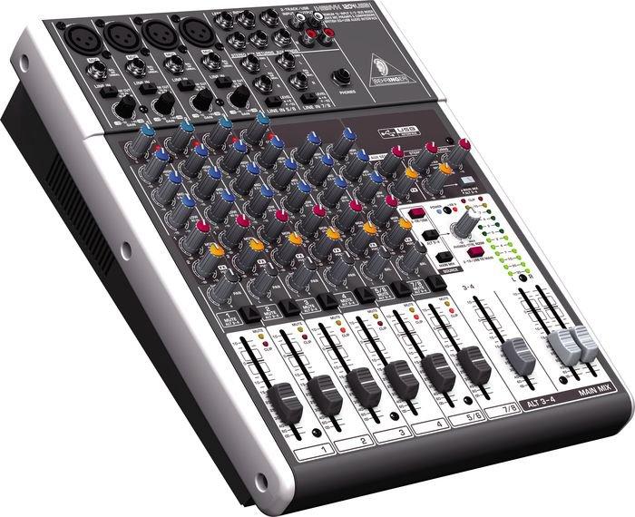 Behringer 1204USB 12 channel mixer