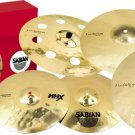 Sabian HHX Evolution Pack with Free HHX Evolution Ozone Crash