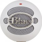 Blue Snowball USB Microphone (White)