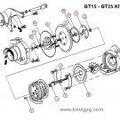 Turbo Rebuild Repair Kit Saab 9.3 9-3 2001 B205E B235E 452204-0005 5955703