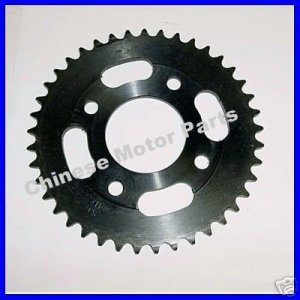 Chain Sprocket, 41-Tooth, 58mm, for 420 Chains,China Pt