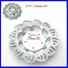 "Dirt Bike Front Brake Rotor,8 3/4"" OD 58mm ID Dirt Bike"