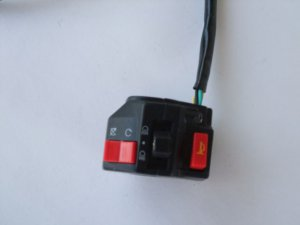 LIGHT HORN SWITHC FOR MOTORCYCLE ATV WITH ALUM CASE