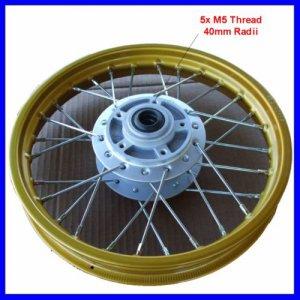 Front Wheel Rim Assy 1.4x12 Disc Brake Dirt Bike Gol
