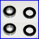 2 New Front Hub 6002-2RS Bearings & Seals China ATVs
