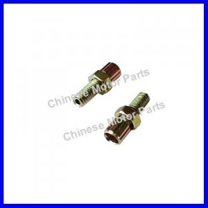 4 Pcs Screw with Nut M6-18 Through Hole 2 Stroke Engine
