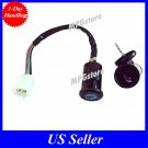 Ignition Switch Key 4 wire 50cc 70cc 90cc 110cc 125 ATV