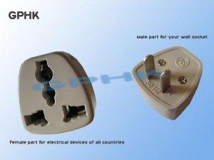 Universal AC Travel Adapter for US Plug Socket