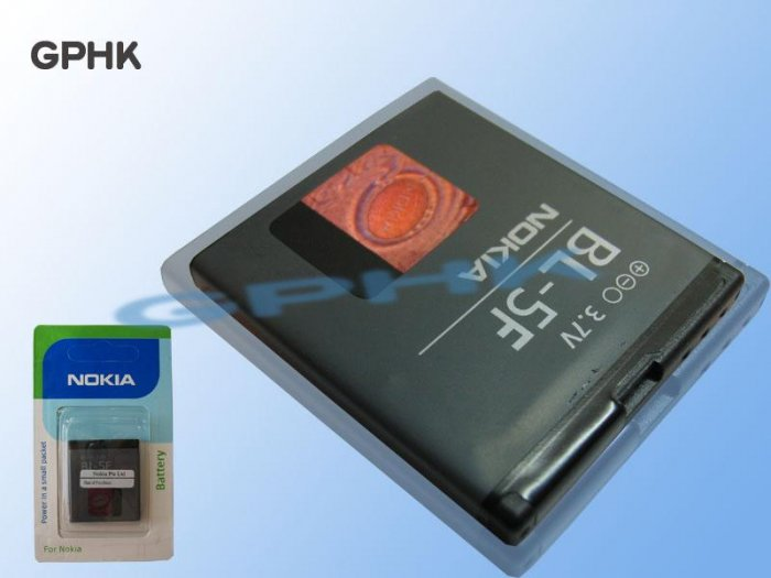 BL-5F Battery for Nokia N95 N93i E65
