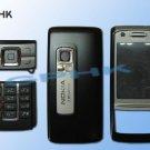 Original Full Black Housing Cover for Nokia 6280 + Keypad