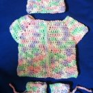 Crocheted Newborn Baby Set