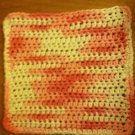 Pink and White Wash Cloth