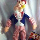 "Pppeye 15."" Patriotic Popeye Doll"