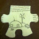 Handmade Igloo Puzzle Pendant