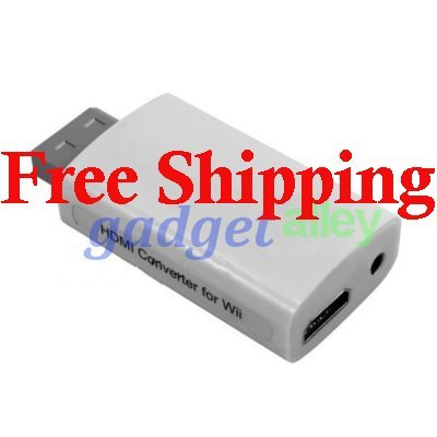 Wii2HDMI Nintendo Wii to HDMI 1080P HDTV Upscaling Converter
