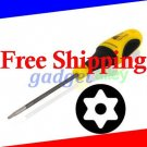 Torx T8H T8 Tamper proof Security screwdriver for Xbox 360 Controller Deluxe CR-V Steel Yel