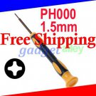 Mini Screwdriver Phillips PH000 1.5mm Cross for Sony Playstation Portable PSP 1000 2000 3000