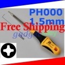 Deluxe Screwdriver Phillips PH000 1.5mm Cross for Sony Playstation Portable PSP 1000 2000 3000