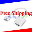 for Apple iPad/ iPad 2/ iPad 3/ iPhone 4/4S dock connector to VGA TV Projector connection adapter