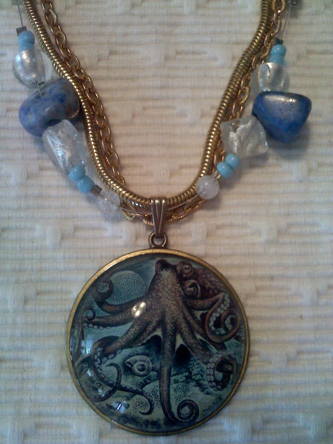 Steampunk Meets the Sea Necklace