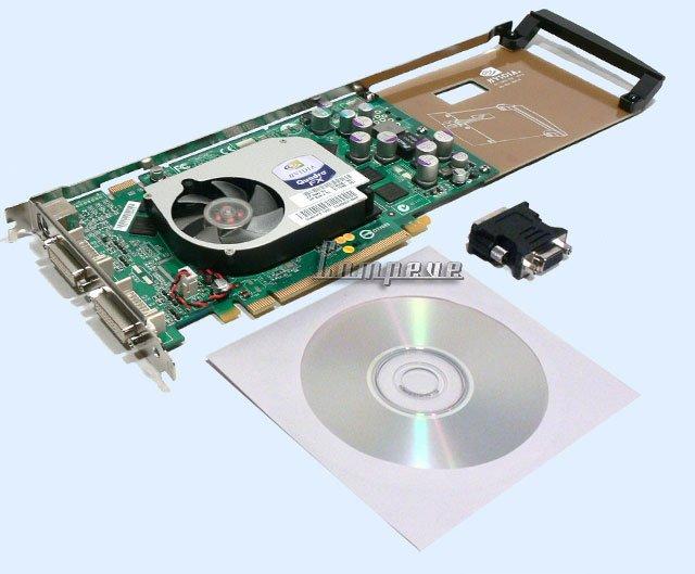 HP nVIDIA QUADRO FX1400 FX 1400 DUAL VIDEO CARD, PCI-E
