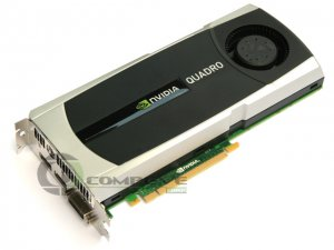NVIDIA Quadro 5000 2.5GB GDDR5 PCI-E 2.0 x16 Graphics Video Card DVI DisplayPort
