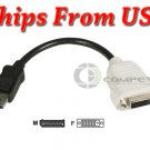 DisplayPort to DVI Adapter ATI FirePRO V4900 V5900 V7900 V4800 V5800 V8800 V8750