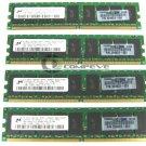 Micron 4GB 4x1GB 4200 HP 359822-051 MT18HTF12872AY RAM