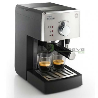Philips Saeco Poemia Manual Espresso Coffee Machine Pressurized Filter European