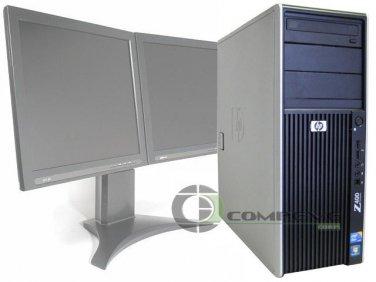 HP Z400 Workstation Xeon Dual Core 2.53Ghz CPU 3GB DDR3 80GB FX 3700 Win 7 Pro