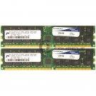 Micron 4GB (2x2GB) PC3200 DDR ECC Reg 184-pin DIMM Memory MT36VDDF25672Y-40BD2