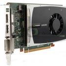 nVidia Quadro 2000 1GB GDDR5 PCI-E x16 Fermi Video Card DP DVI HP 616075-001