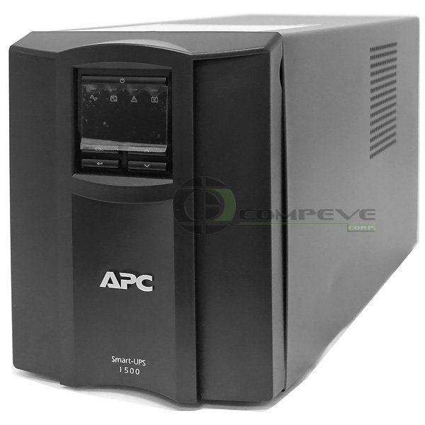 APC Smart-UPS 1000 Watts 1440VA LCD 1.44 kVA 120V UPS System SMT1500