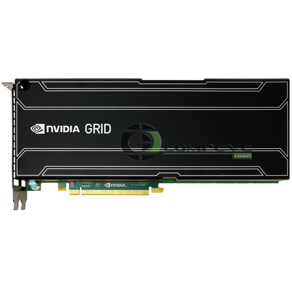 Nvidia GRID K2 8GB PCIe 3 x16 Kepler GPU Graphics Board 900-52055-0010-000