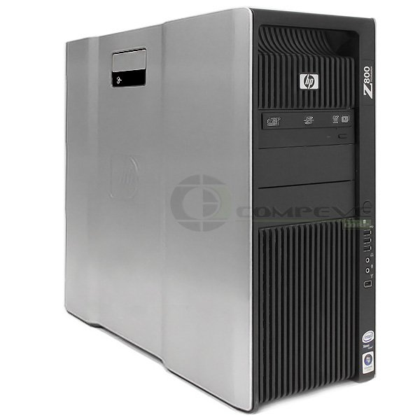 HP Workstation Z800 Intel Xeon QC X5560 2.8GHz 8GB RAM 256GB SSD nVidia FX3800
