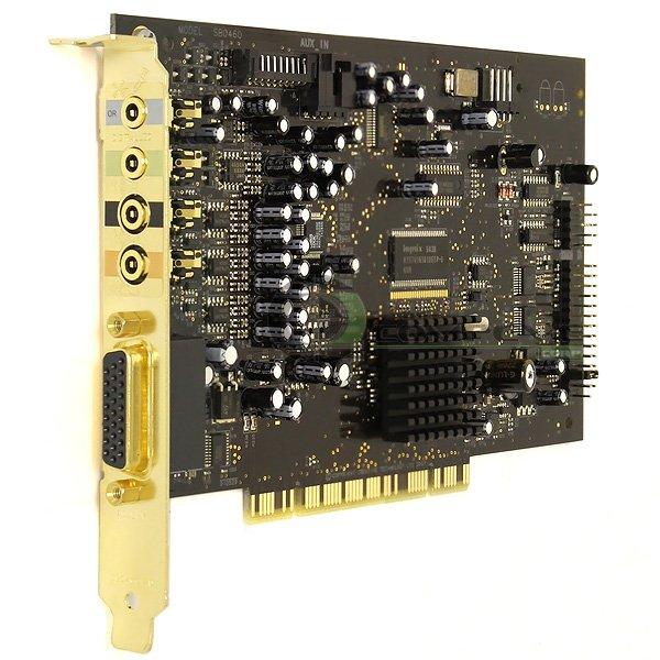 Creative Sound Blaster X-Fi PCI 7.1 Audio Sound Card SB0460 Dell NR603