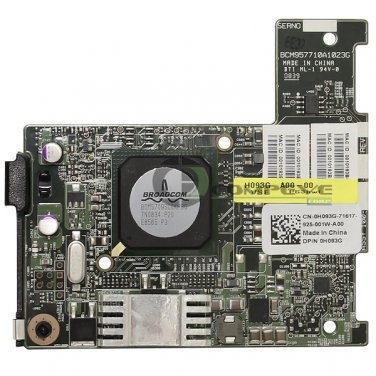 Dell Broadcom 5709 Dual Port Gigabit Ethernet PCIe Network Interface Card H093G